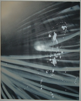 Spray paint on canvas