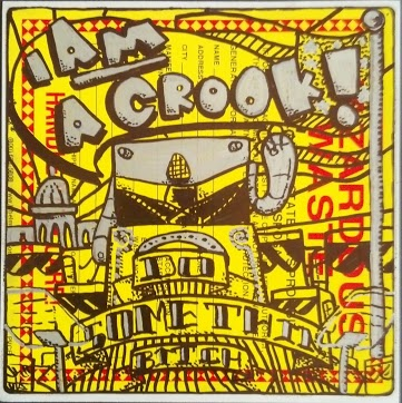 Sharpie on sticker