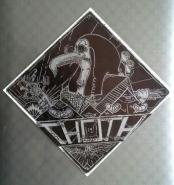 Sharpie on sticker